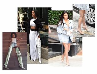 Самая модная обувь осени: ботфорты