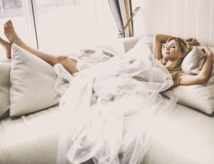 Снова невеста: Вера Брежнева вышла на подиум в свадебном платье (ФОТО)