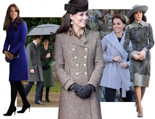 Носить пальто, как Кейт Миддлтон: учимся элегантности у герцогини