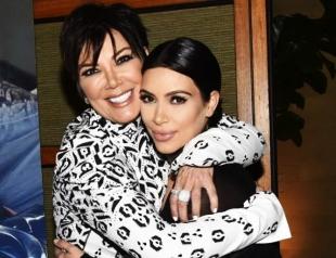 Ким Кардашьян удивила маму необычным подарком на день рождения