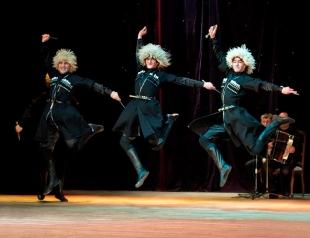 Всеукраинский гастрольный тур Ансамбля песни и танца «Кутаиси»!
