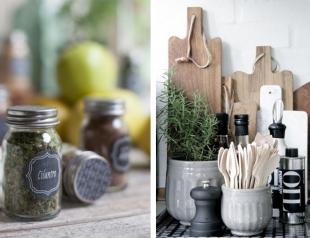 Как хранить специи на кухне: лайфхаки и стильные идеи