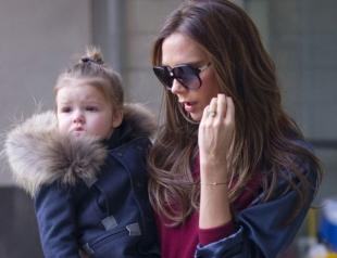 Виктория Бекхэм отдала 5-летнюю дочь в балетную школу