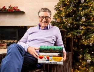 Миллиардер Билл Гейтс назвал ТОП-5 книг 2016 года, которые нужно прочитать всем