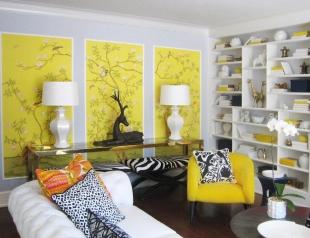 Как применить остатки обоев для дизайна квартиры: интересные идеи и фото