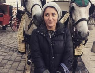 Антигламурное селфи: Оля Цибульская показала лицо без макияжа (ФОТО)