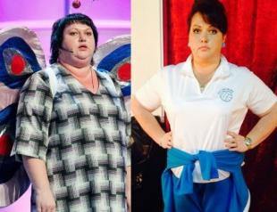 Звезда КВН рассказала, как похудела на 61 килограмм за год (ФОТО)