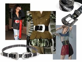 Заткнуть за пояс: как носить большой ремень – самый модный аксессуар 2017 года
