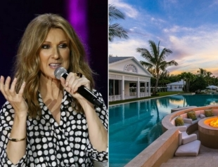 Звездная недвижимость: Селин Дион продает  роскошный дом во Флориде по сниженной цене в 38,5 миллионов долларов (ФОТО)