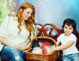 Беременная Анастасия Стоцкая призналась, что мечтает о троих детях