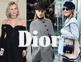 Первая кутюрная коллекция Dior, созданная женщиной для женщин: ретро-образы Собчак, Водяновой, Дианы Крюгер и других звезд