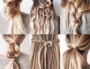 Заплети косу: 40 идей оригинального плетения (ВИДЕО)