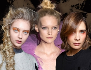 Тренды на прически с мировых недель моды: пучок, укладка, плетения