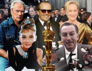 """""""Оскароносные"""" рекордсмены: знаменитости, у которых больше всех """"Оскаров"""""""