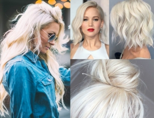 Platinum Blond Hair Inspiration: самые красивые варианты трендового платинового блонда (ФОТО 30+)