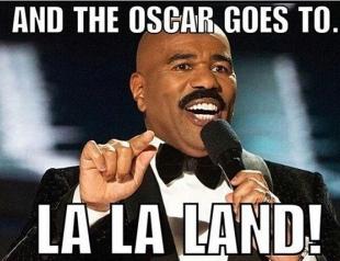 Оскар 2017: скандал с конвертами или как перепутали победителя впервые в истории кинопремии