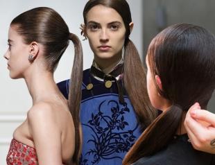 Завяжи хвост: самая простая прическа на пике моды весной-летом 2017