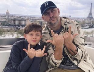 Супер-папа: Потап оторвался с 8-летним сыном на каникулах во Франции (ФОТО)