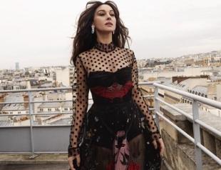 Моника Беллуччи снялась в стильной фотосессии в нарядах от украинских дизайнеров (ФОТО)