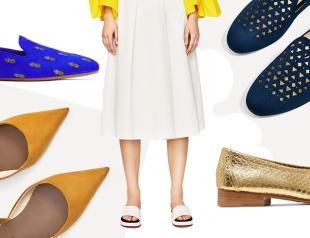 Модная обувь без каблука на весну: масс-маркет и украинские бренды
