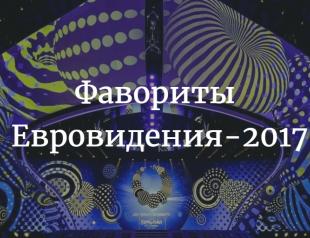 """Букмекеры: кто победит на """"Евровидении-2017"""" – прогноз и таблица фаворитов"""