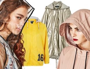 Стильный дождевик, ветровка или плащ в твоём гардеробе: где купить и с чем носить