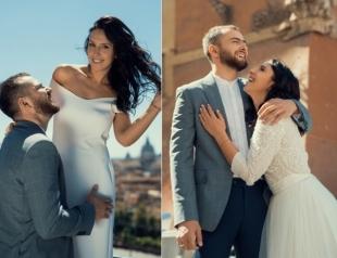 В Сеть попали эксклюзивные кадры свадебного путешествия Джамалы и Бекира Сулейманова в Риме (ФОТО)