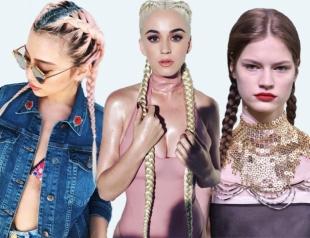 Школьные косички как самая модная прическа для лета 2017