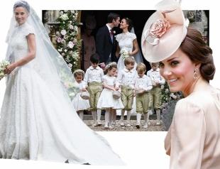 Голосуем! Битва невест: свадебное платье Пиппы Миддлтон против свадебного платья Кейт Миддлтон