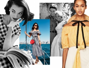 Клетка виши ― самый модный принт лета: как носить и где купить