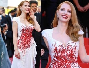 Джессика Честейн раскритиковала Каннский кинофестиваль 2017 за сексизм и дискриминацию, будучи одной из членов жюри