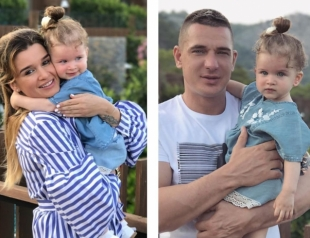 Папина дочка: Курбан Омаров показал свою маленькую копию с характером Ксении Бородиной