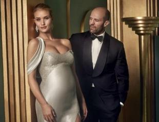 Официально: Рози Хантингтон-Уайтли впервые стала мамой, родив Джейсону Стэтхему сына