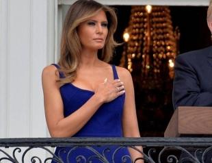Мелания Трамп покорила нарядом на праздновании Дня независимости США (ФОТО)