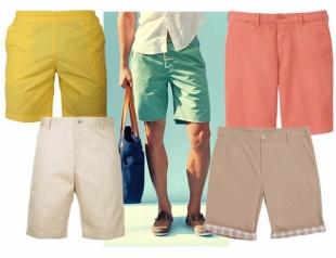 Как подобрать мужские шорты: советы от Андре Тана
