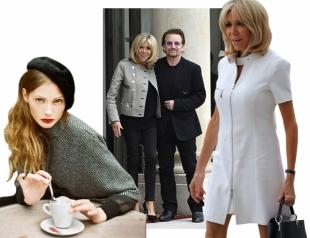Парижский шик Брижит Макрон: как на самом деле одеваются француженки
