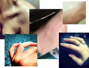 Белые татуировки набирают популярность: что надо знать, прежде чем набить (ФОТО)