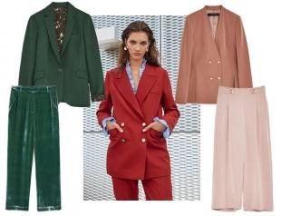 Модные брючные костюмы на осень: где купить и как носить