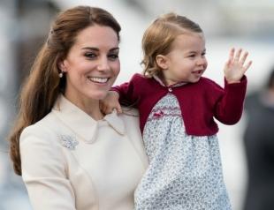 Мамина гордость: Кейт Миддлтон рассказала о любимом занятии принцессы Шарлотты
