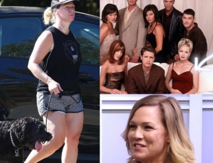 """Время — беспощадно: звезда """"Беверли-Хиллз, 90210"""" Дженни Гарт изменилась до неузнаваемости (ФОТО)"""
