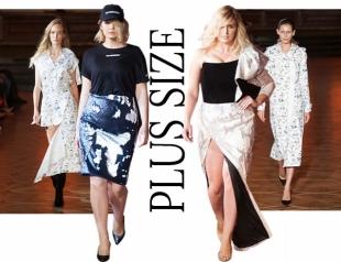 Революция в украинской моде: plus-size модели впервые вышли на подиум
