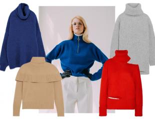 Модные свитеры осени: где купить и какой выбрать