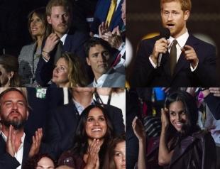 Первый официальный выход в свет: Меган Маркл и принц Гарри впервые вместе появились на публике
