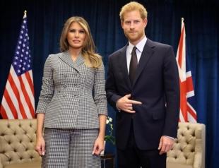 Мелания Трамп впервые встретилась с принцем Гарри в Торонто (ВИДЕО)