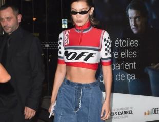 Белла Хадид надела модные джинсы украинского дизайнера Ksenia Schnaider (ФОТО)
