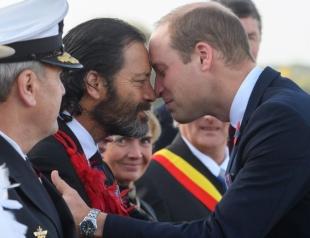 Разделяя одно божественное дыхание на двоих: принц Уильям c бывшим капралом специальной авиаслужбы стали героями Сети
