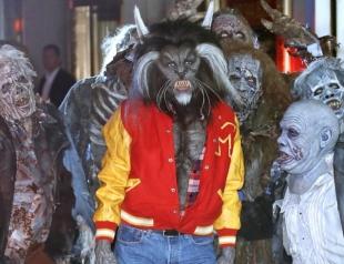 Самый страшный костюм Хэллоуина-2017: Хайди Клум снова удивила (ФОТО+ВИДЕО)