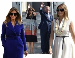 Голосуем! Азиатский тур Трампов: пальто за 2 795$ и японские поклонницы стиля Мелании Трамп
