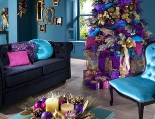 Быть в тренде: как украсить комнату к Новому году 2018
