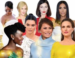 Итоги года 2017: лучшие выходы звезд на красные дорожки